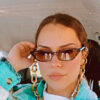 Crystal Sunglasses Holder