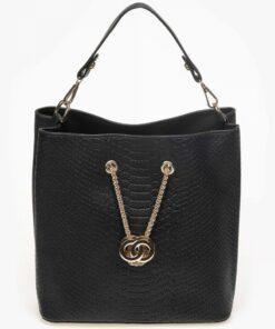 Black Pouch Bag