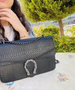 Snake Bag Black