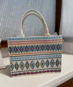 Straw Bag Blue