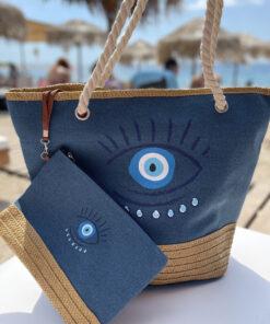 Eye Bag Blue